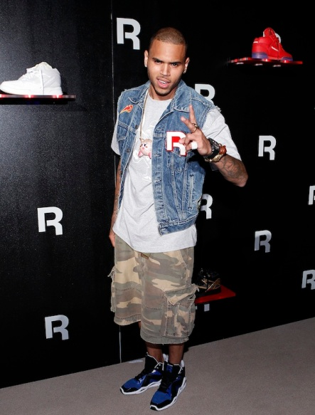 Swizz Beatz and Chris Brown Performance for Reebok Classics at Project, Las Vegas