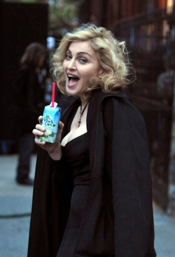Madonna films in Harlem